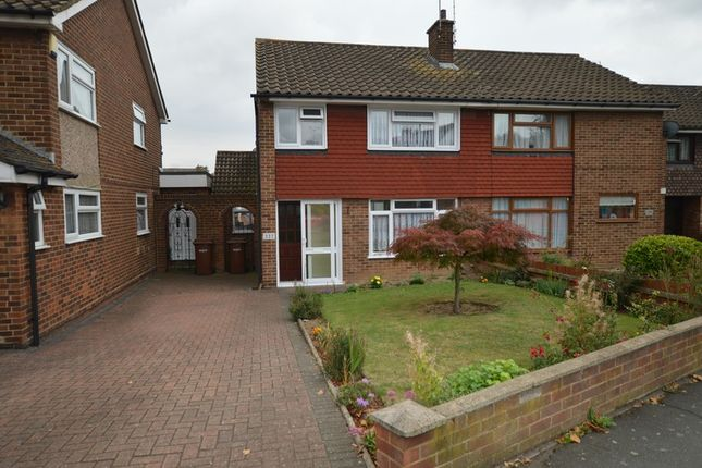 Thumbnail Semi-detached house for sale in Beechings Way, Gillingham, Kent