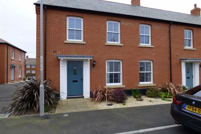 Thumbnail End terrace house for sale in Courage Way, Chickerell, Weymouth