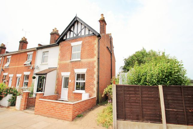 Thumbnail End terrace house to rent in Wickham Road, Colchester