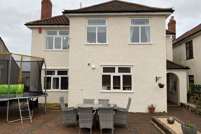 Thumbnail Detached house for sale in The Ridgeway, Worlebury, Weston-Super-Mare
