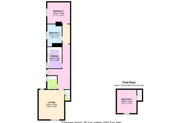 Floor Plan of Broad Street, Chipping Sodbury, South Gloucestershire BS37