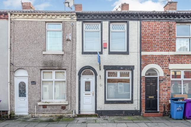 Front of Bishopgate Street, Wavertree, Liverpool, Merseyside L15