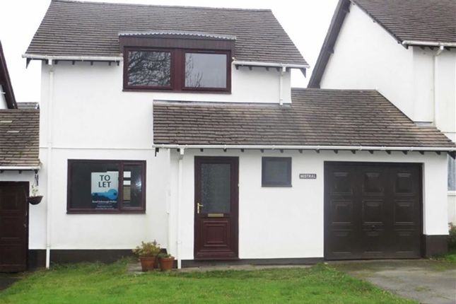 Thumbnail Link-detached house to rent in Manor Park, Bradworthy, Holsworthy