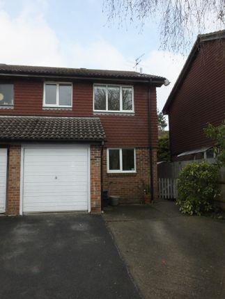 Thumbnail Semi-detached house to rent in De Grey Close, Lewes