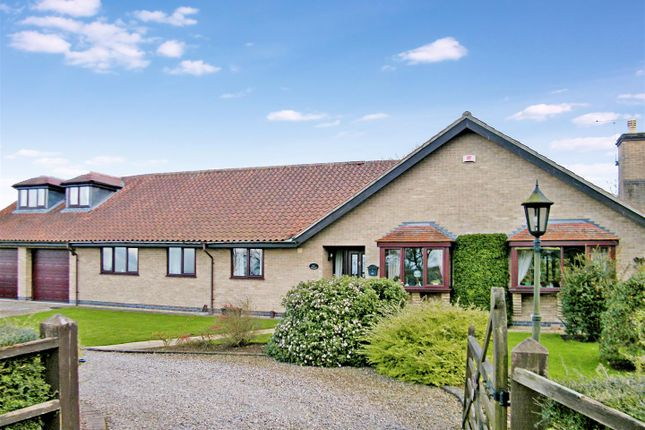 Thumbnail Detached bungalow for sale in Rectory Lane, Barrowby, Grantham