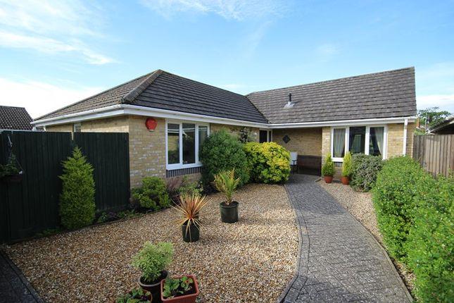 Thumbnail Detached bungalow for sale in Lavender Gardens, Hordle, Lymington