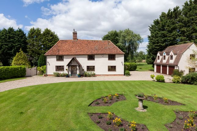 Thumbnail Detached house for sale in Mary Lane, Hundon, Suffolk