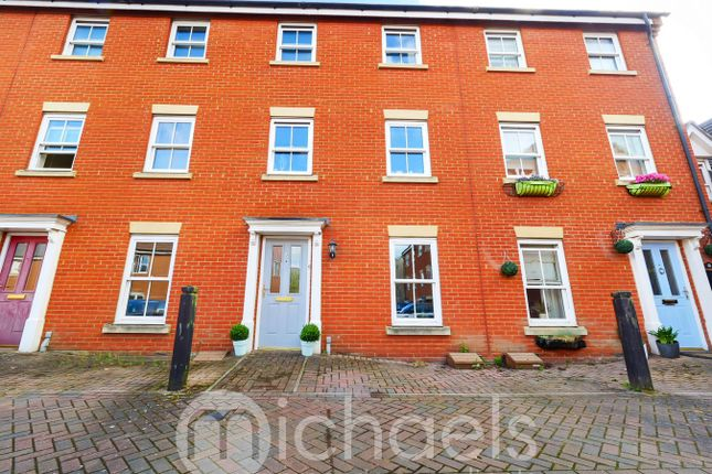 Town house for sale in Halcyon Close, Witham