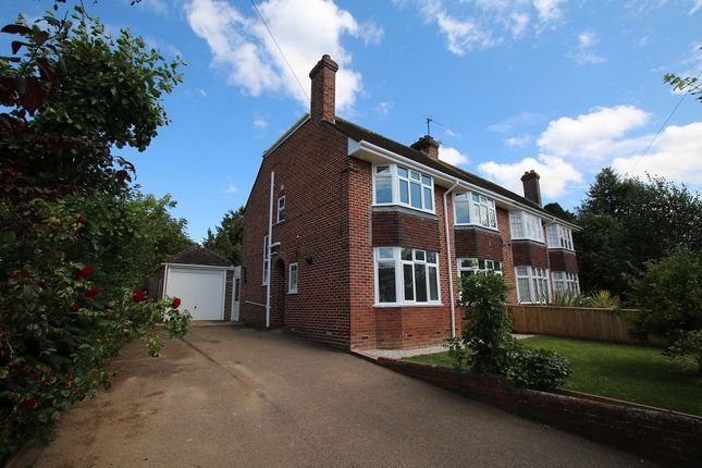 Thumbnail Semi-detached house to rent in Pennsylvania Close, Exeter