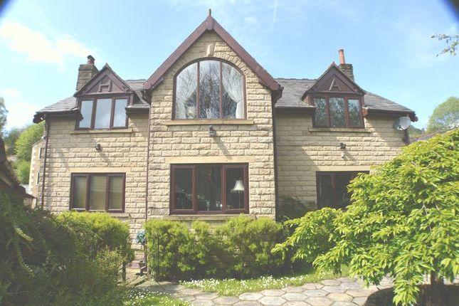 Thumbnail Detached house for sale in Heron Lane, Mossley, Ashton-Under-Lyne