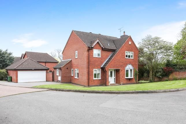 Thumbnail Detached house for sale in The Spinney, Atherstone, Warwickshire