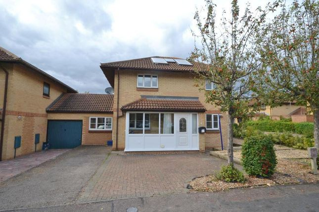 Thumbnail 3 bed detached house for sale in Goodwood, Great Holm, Milton Keynes, Buckinghamshire