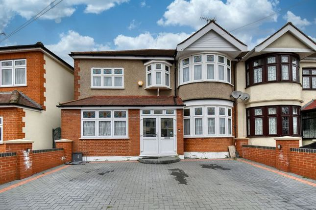 Thumbnail Semi-detached house for sale in Norbury Gardens, Chadwell Heath, Romford