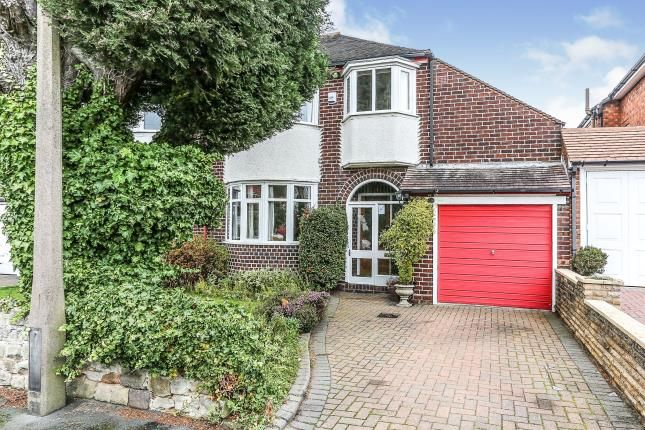 Thumbnail Semi-detached house for sale in Meadow Grove, Solihull, West Midlands, Birmingham