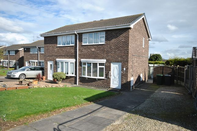Thumbnail Semi-detached house for sale in Everetts Close, Tickhill, Doncaster