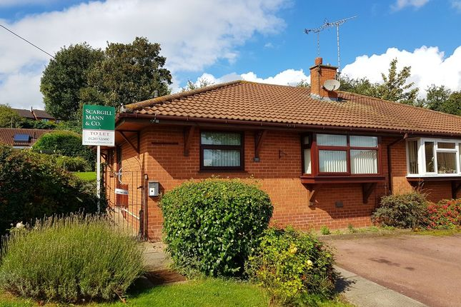 Thumbnail Semi-detached bungalow to rent in Wakefield Avenue, Tutbury, Burton-On-Trent