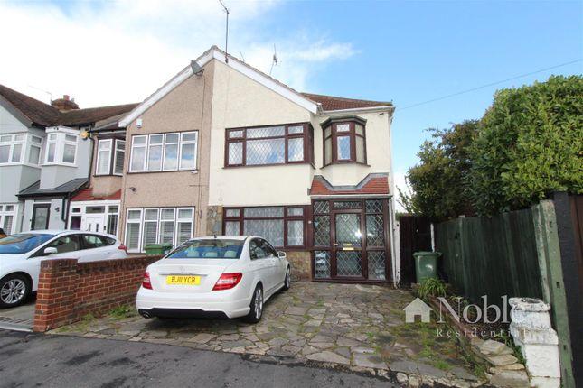 End terrace house for sale in Faircross Avenue, Collier Row, Romford