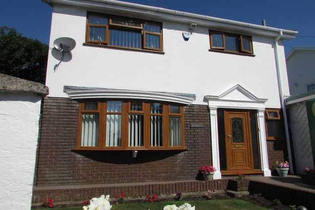Thumbnail Detached house for sale in Cefn Parc, Neath, Neath Port Talbot.