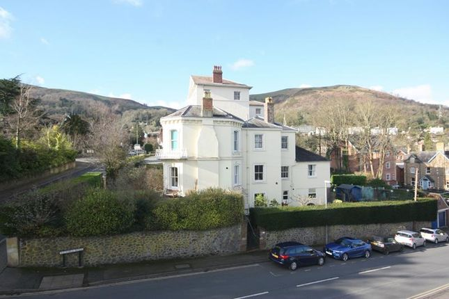 View To Hills of Cartwright Court, Apartment 52, 2 Victoria Road, Malvern, Worcestershire WR14