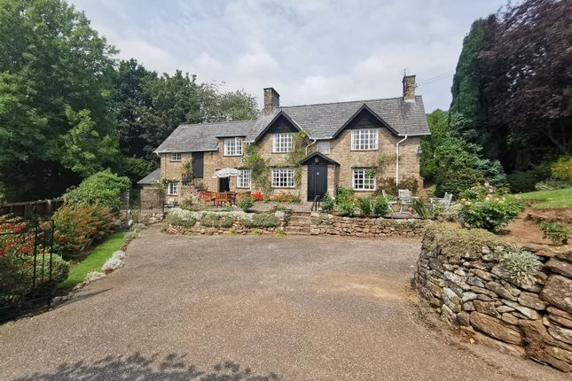 Thumbnail Detached house for sale in Llanvair Discoed, Chepstow