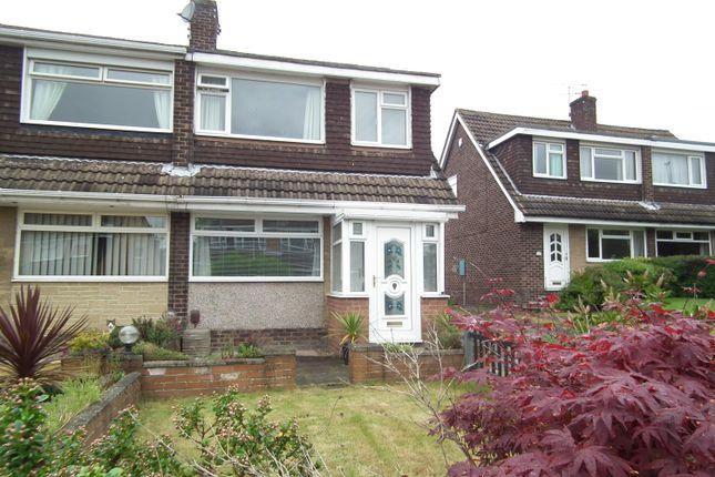 Thumbnail Semi-detached house to rent in Greenlea Road, Yeadon, Leeds
