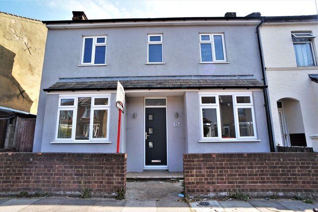 Thumbnail End terrace house for sale in Springhead Road, Northfleet, Gravesend