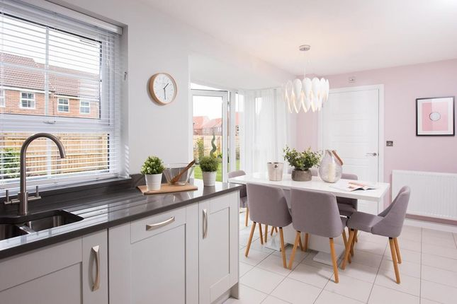 """Thumbnail Detached house for sale in """"Derwent"""" at Wheatley Hall Road, Wheatley, Doncaster"""