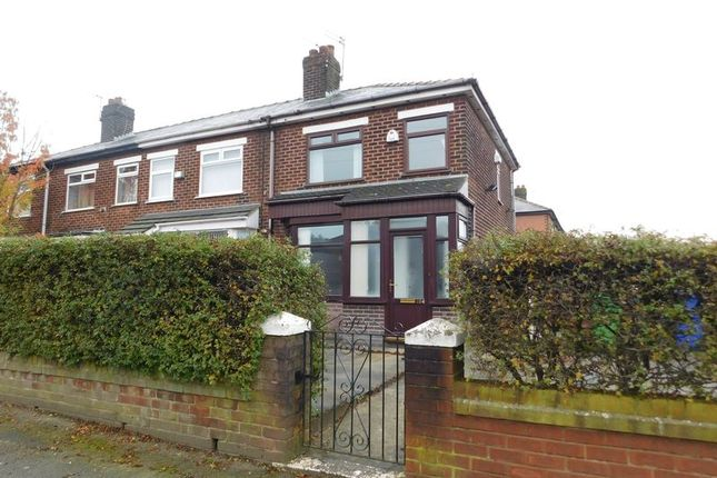 Thumbnail Semi-detached house for sale in St. Marys Road, Moston, Manchester