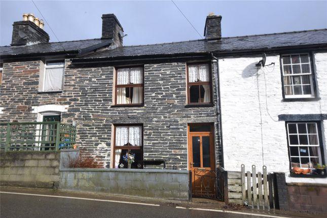 Thumbnail Terraced house for sale in Upper Corris, Machynlleth, Gwynedd