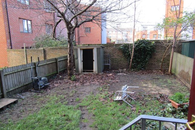 Garden of Ashdown House, Charwood Street, London E5