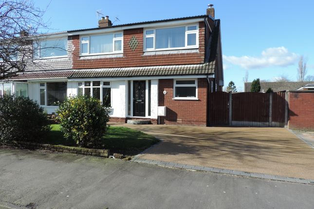 Thumbnail Semi-detached house to rent in Denbydale Way, Royton, Oldham