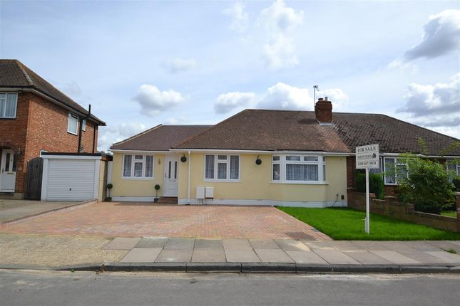 Thumbnail Bungalow for sale in Hazelmere Close, Feltham