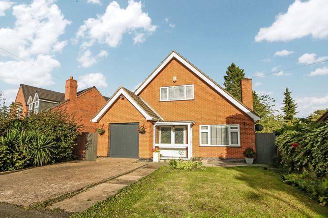 Thumbnail Detached house for sale in Main Road, Sheepy Magna, Atherstone