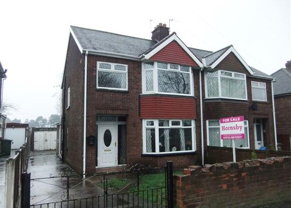Thumbnail Semi-detached house for sale in Queensway, Scunthorpe