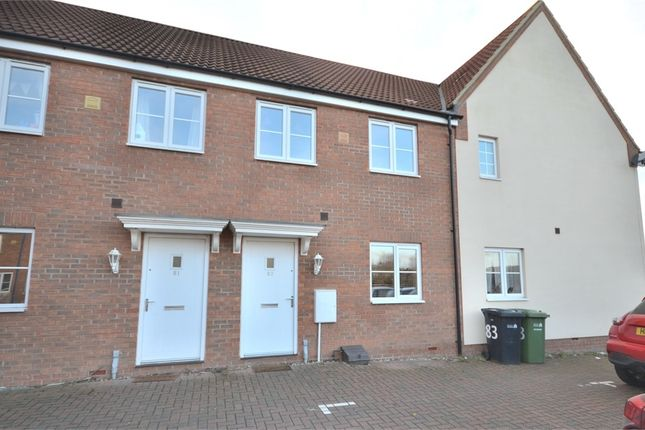 Thumbnail Terraced house for sale in Dairy Way, King's Lynn