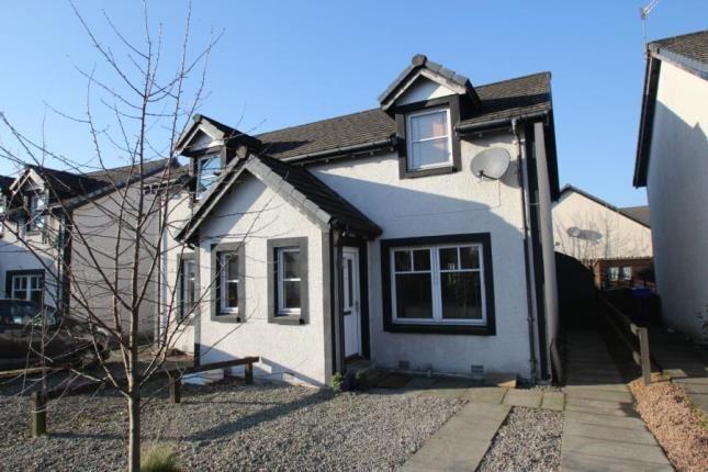Thumbnail Semi-detached house for sale in Vorlich Crescent, Callander, Stirlingshire
