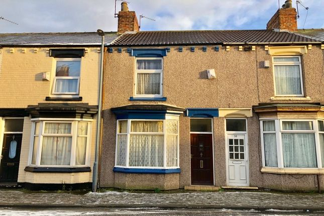 Terraced house for sale in Finsbury Street, Middlesbrough