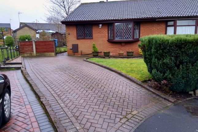 Thumbnail Semi-detached bungalow to rent in Surrey Park Close, Shaw, Oldham