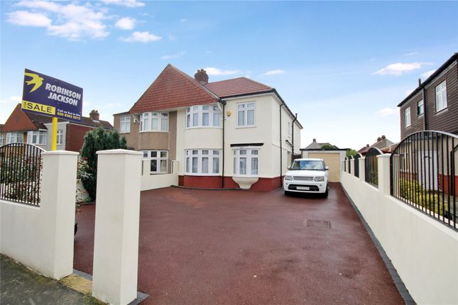 Thumbnail Semi-detached house for sale in Bellegrove Road, South Welling, Kent