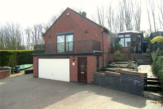 Thumbnail Detached bungalow for sale in Mount Crescent, Broadmeadows, South Normanton, Alfreton