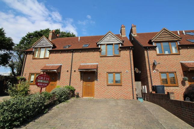 Thumbnail Semi-detached house for sale in The Paddock, Coronation Avenue, Upton, Poole