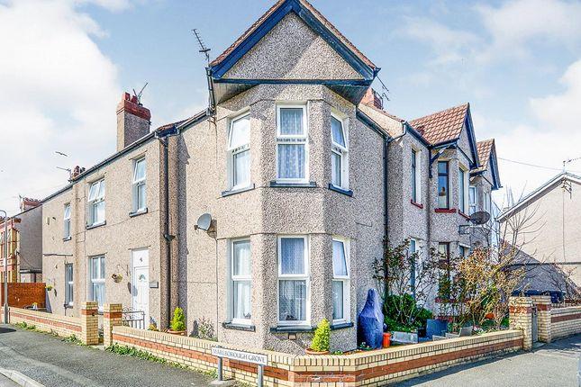 Thumbnail End terrace house for sale in Marlborough Grove, Rhyl, Denbighshire