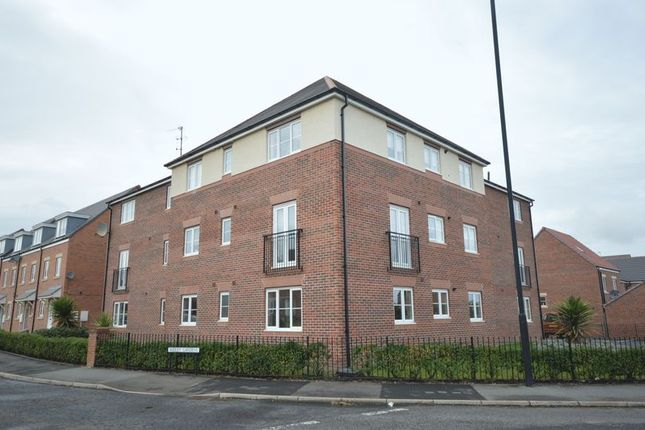 Thumbnail Flat to rent in Ridley Gardens, Earsdon View, Shiremoor