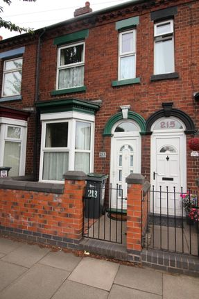 Thumbnail 2 bed terraced house to rent in Campbell Road, Stoke On Trent