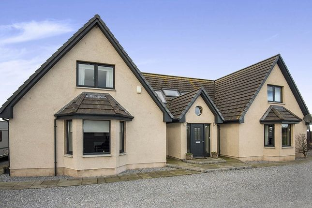 Thumbnail Detached house for sale in Spey Road, Nether Dallachy, Spey Bay, Fochabers