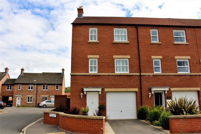 Thumbnail End terrace house for sale in Beckside, Malton