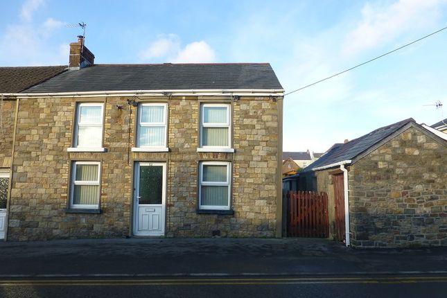 3 bed semi-detached house for sale in Cwmgarw Road, Upper Brynamman, Ammanford, Carmarthenshire. SA18
