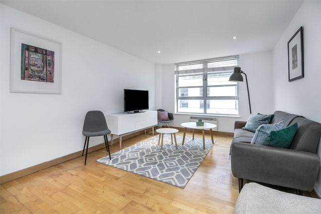 Living Room of St. Clements House, 12 Leyden Street, London E1