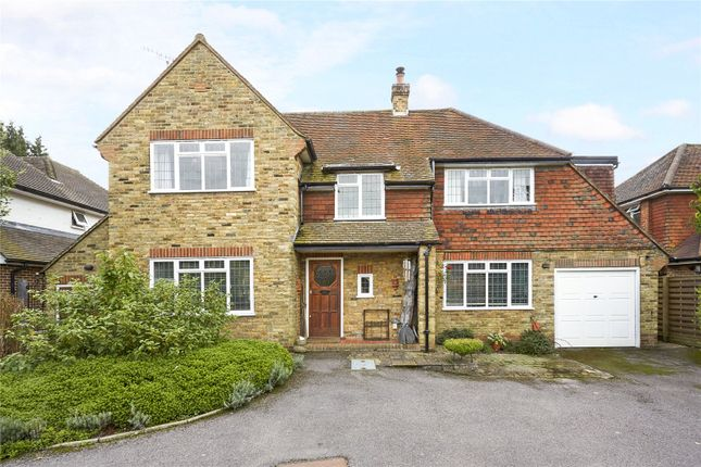 Thumbnail Detached house for sale in Bentsbrook Park, North Holmwood, Dorking, Surrey