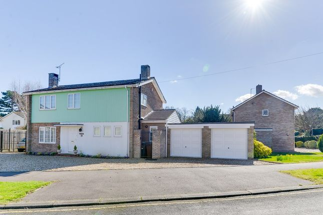 Thumbnail Detached house for sale in Hollies Close, Royston, Royston